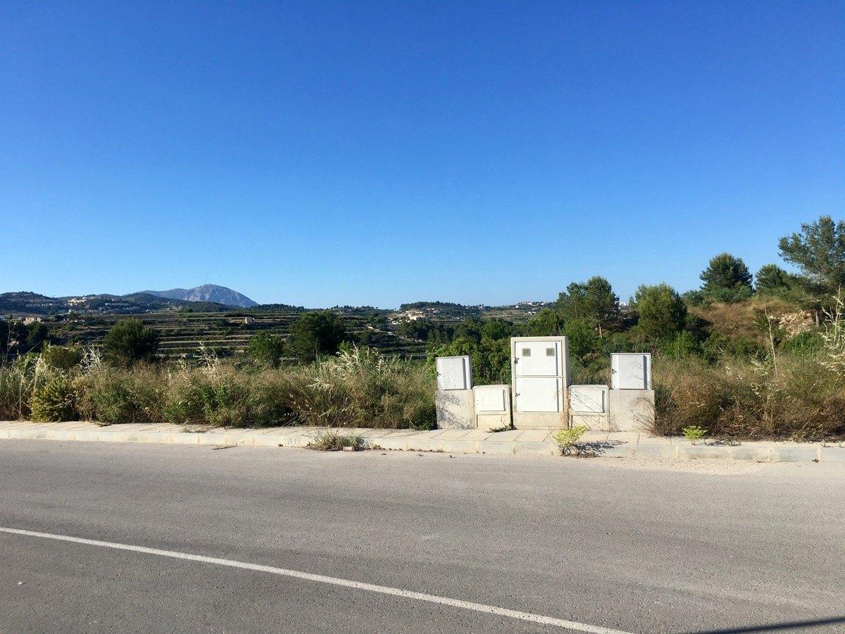 Parcela constructible rústica en venta en Camarrocha Moraira