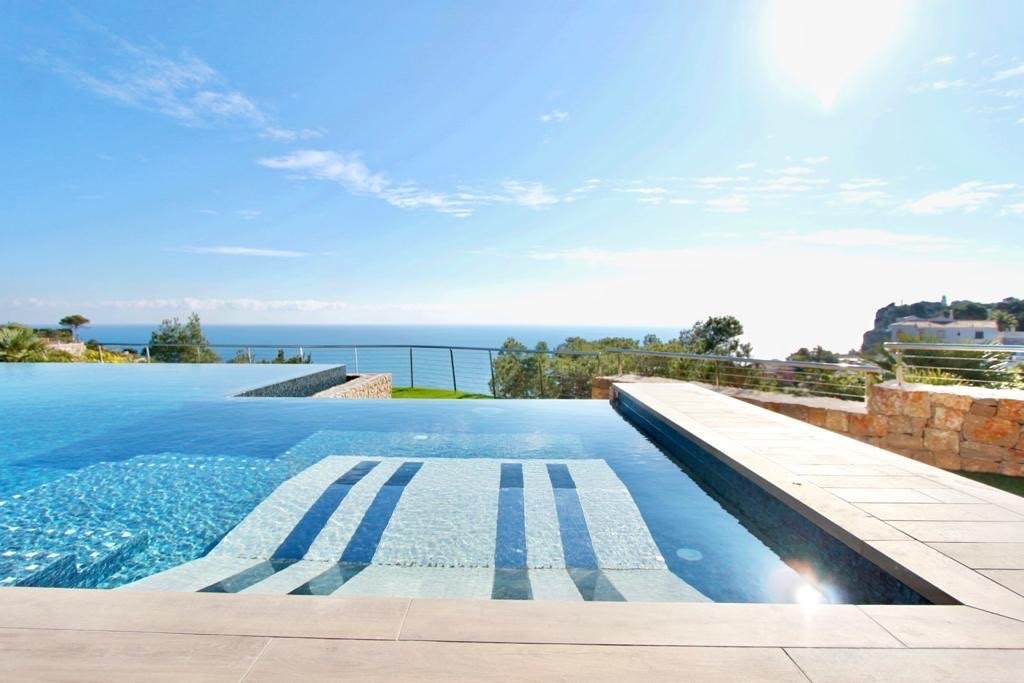 Villa moderna de obra nueva en venta en Jávea con vistas al mar Balcón al Mar