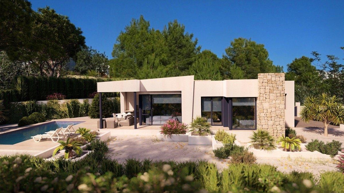 villa en benissa · fanadix 595000€