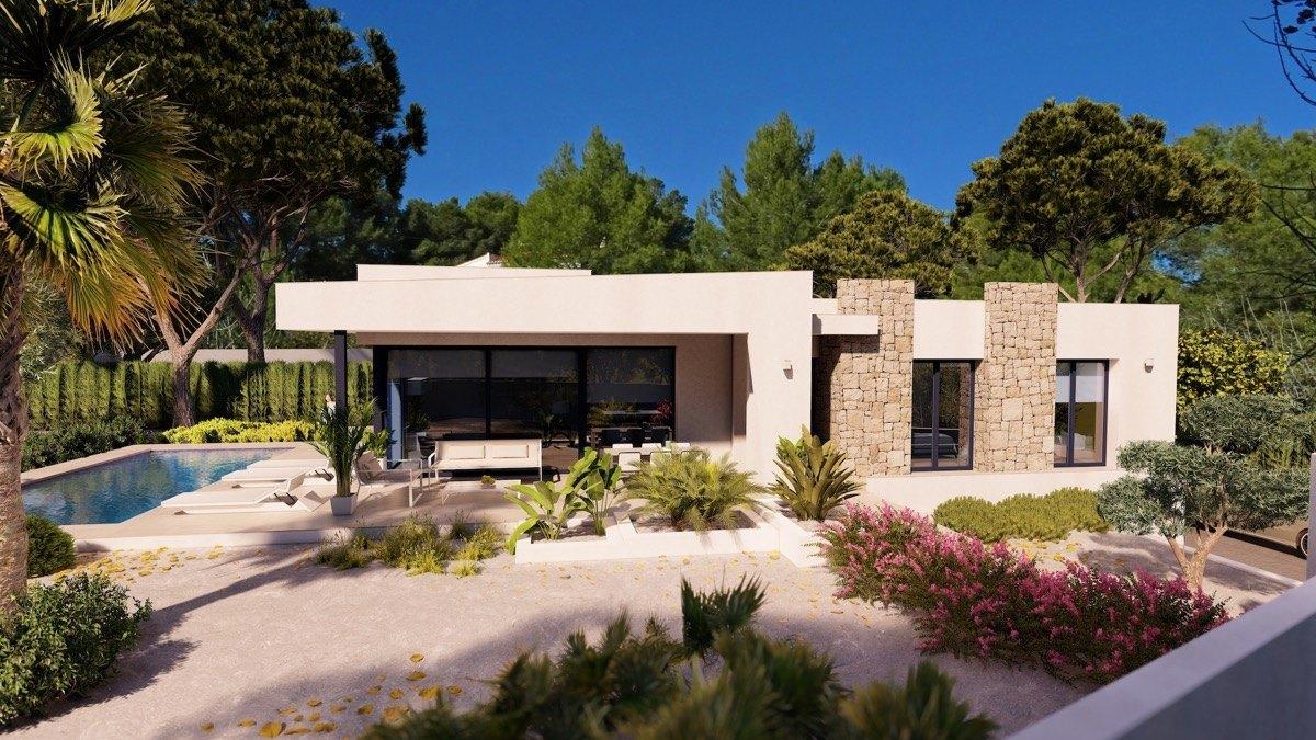 villa en benissa · fanadix 605000€