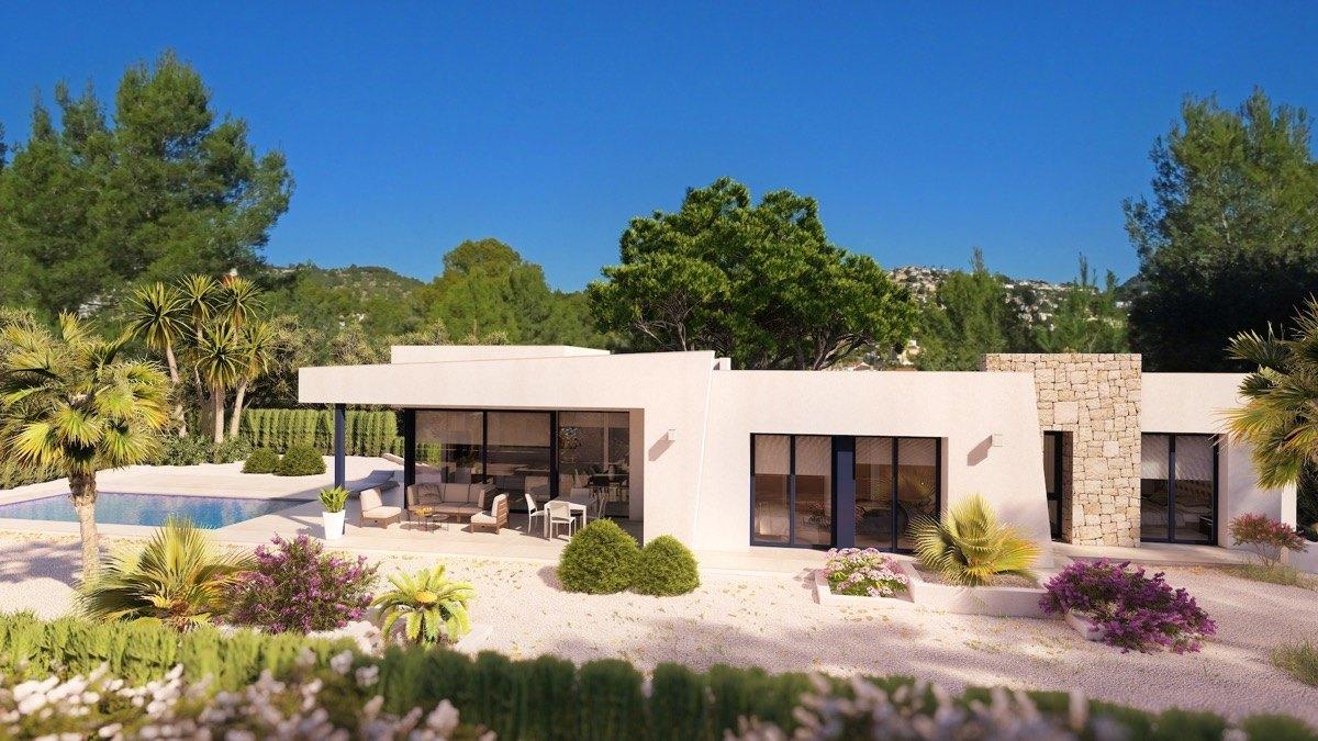 villa en benissa · fanadix 615000€