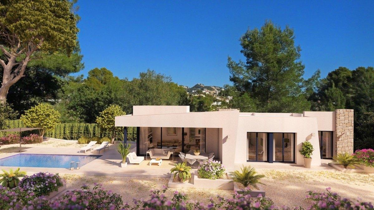 villa en benissa · fanadix 575000€