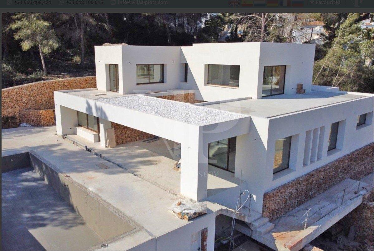 villa en moraira · el-portet 1750000€