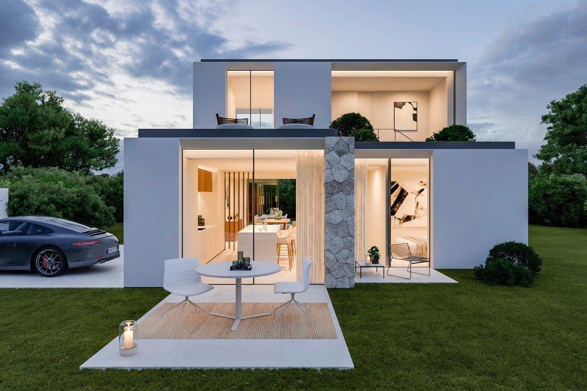 Villa moderna de obra nueva en venta en Denia, San Juan